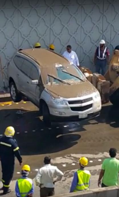 سيارات غارقة في أمطار #جدة