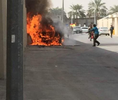 سيارة-تحترق 1