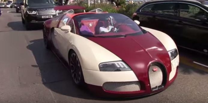 سيارة فارهة لسعودي