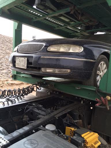 سيارة مسرقة - مكة1