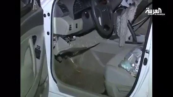 شاهد.. هذا ما تم ضبطه في سيارة إرهابي #نجران - المواطن
