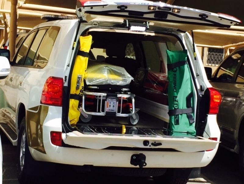 سيارتا إسعاف دفع رباعي لصحة نجران (4)