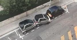 شاهد.. سيدة توقف سيارتها الذكية في مساحة ضيقة جدًّا - المواطن