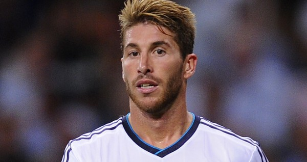 لاعب ريال مدريد الإسباني سرجيو راموس