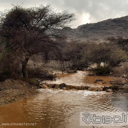 سيول عسير تظهر جمال الطبيعة وسحرها7