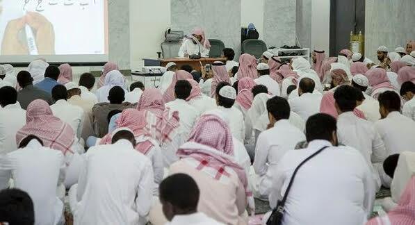 شؤون المصاحف و الكتب بالمسجد الحرام تنفذ دورة مهارية في تعليم الخط العربي 3