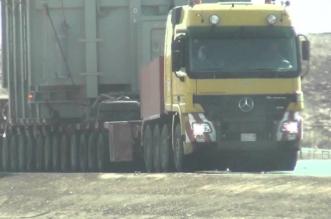 ناقل الحركة يُعطل شاحنة بطريق الساحل الجديد - المواطن