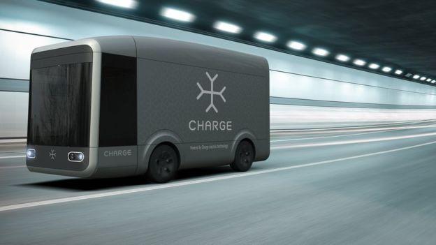 شاحنة لتوصيل الطلبات ذاتية القيادة يتم تجميعها في 4 ساعات