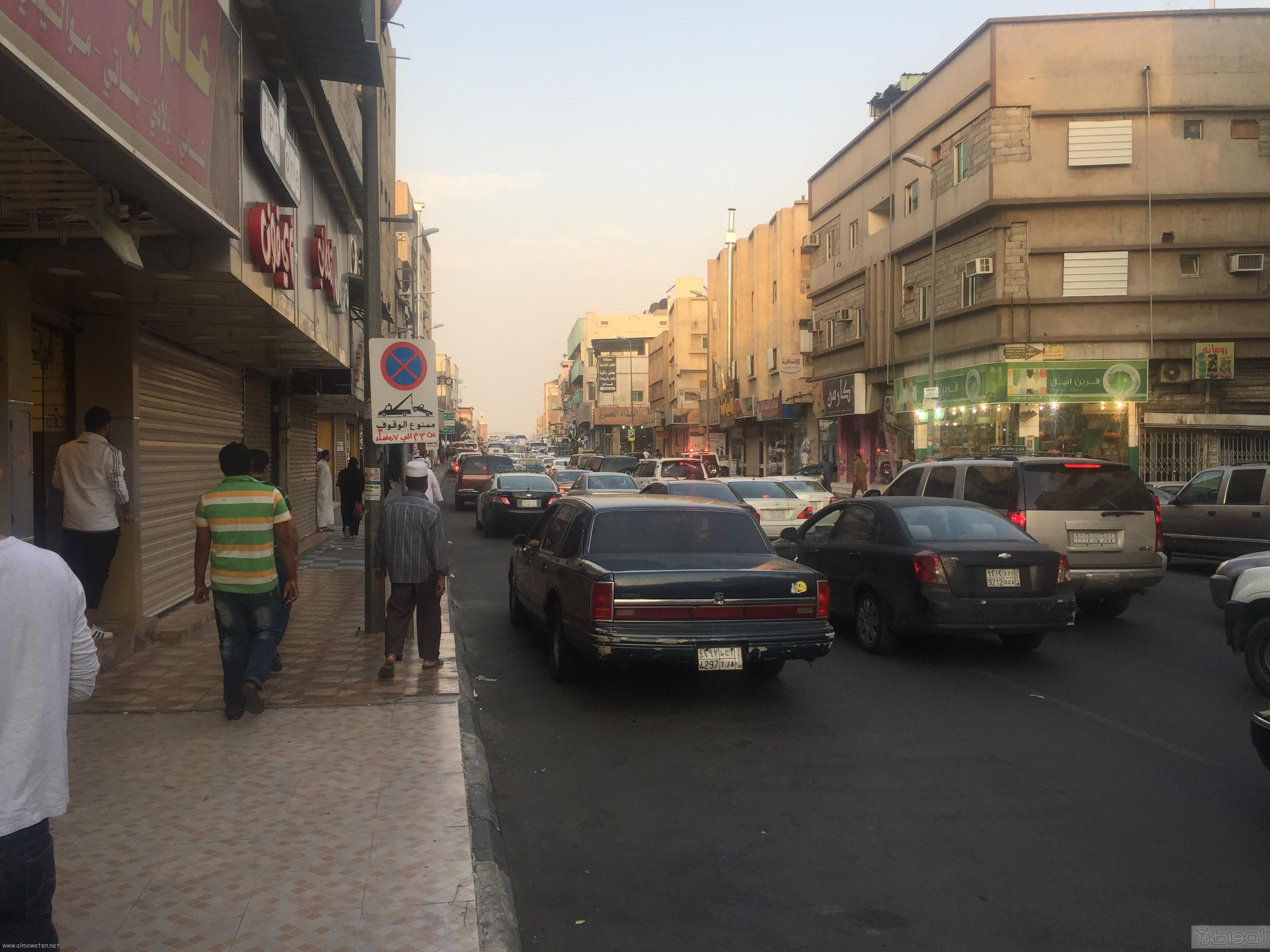 شارع عكاظ بالطائف زوار رمضان (1)