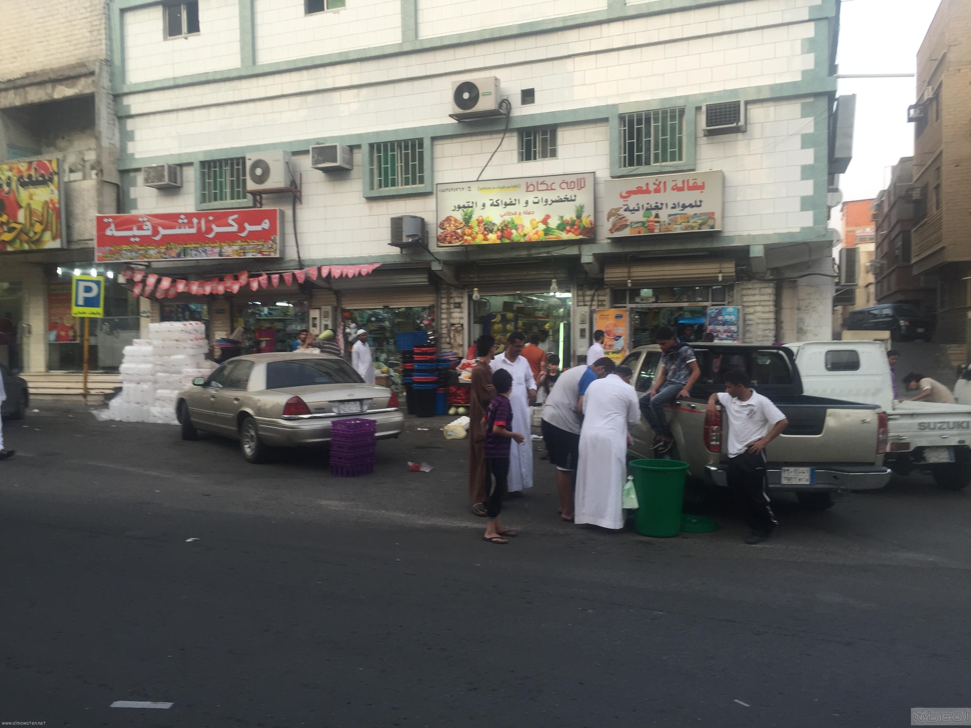 شارع عكاظ بالطائف زوار رمضان (10)