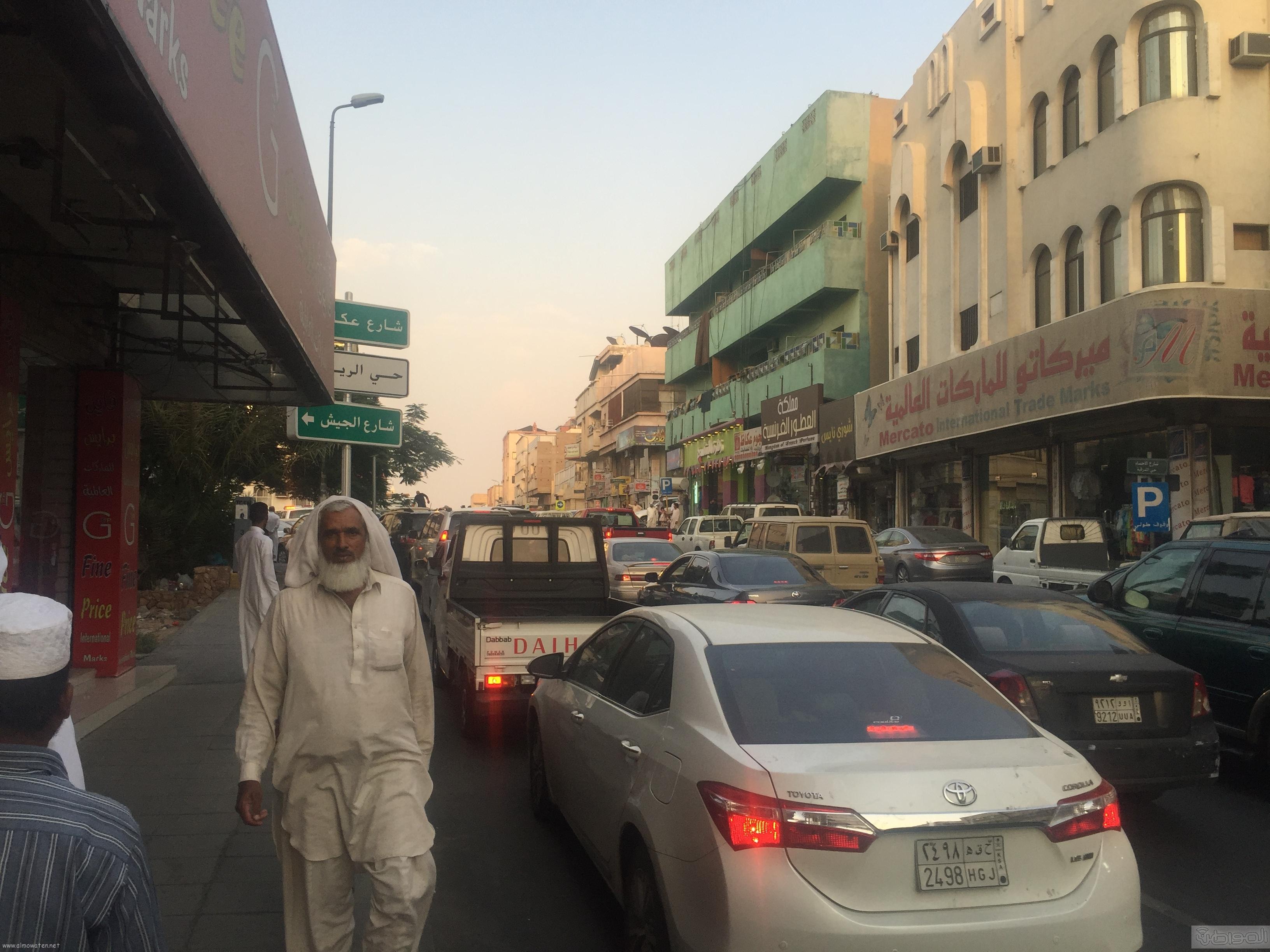 شارع عكاظ بالطائف زوار رمضان (2)