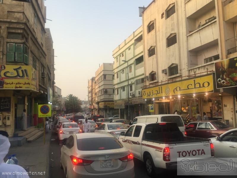 شارع عكاظ بالطائف زوار رمضان (4)
