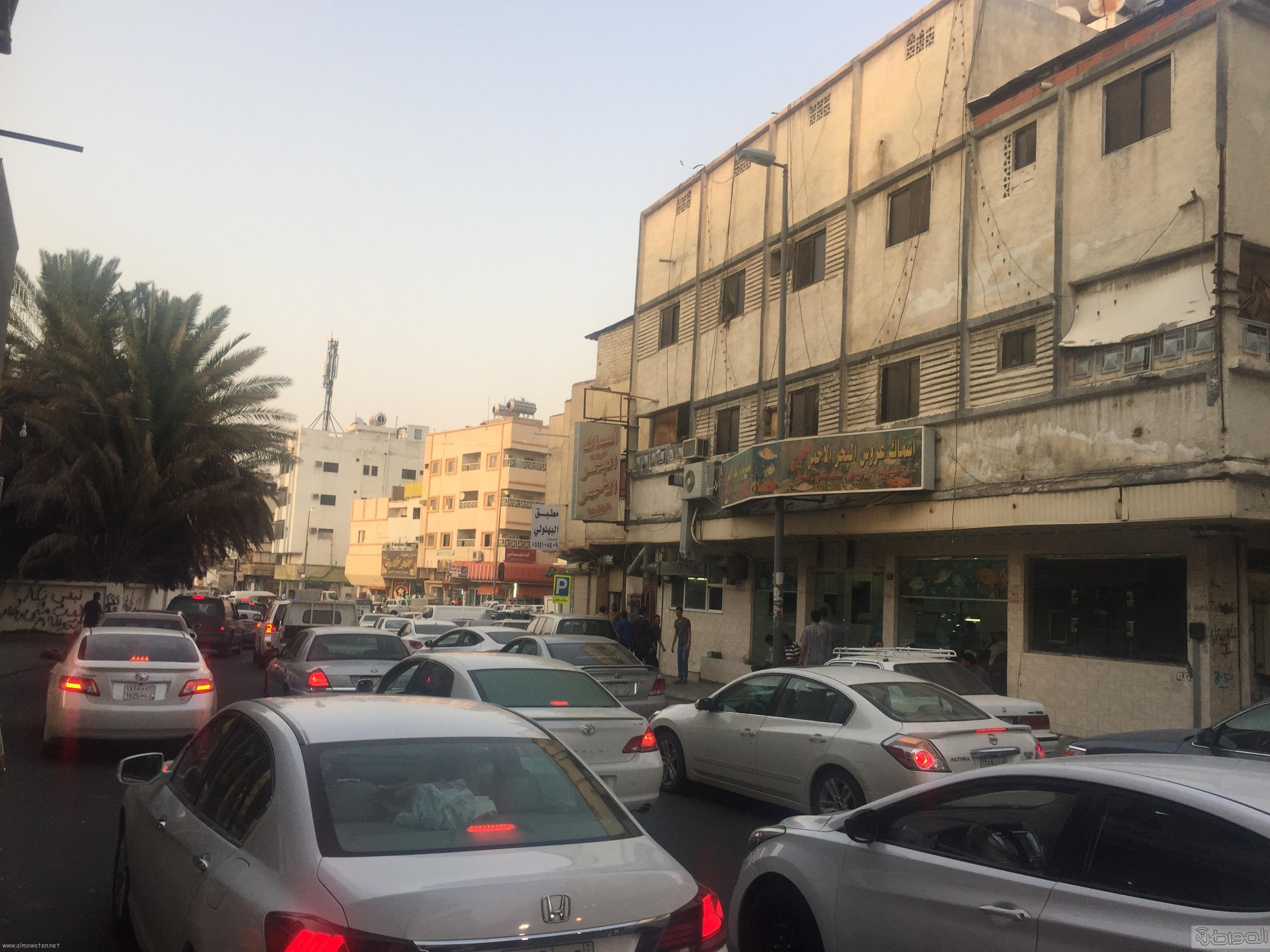 شارع عكاظ بالطائف زوار رمضان (5)