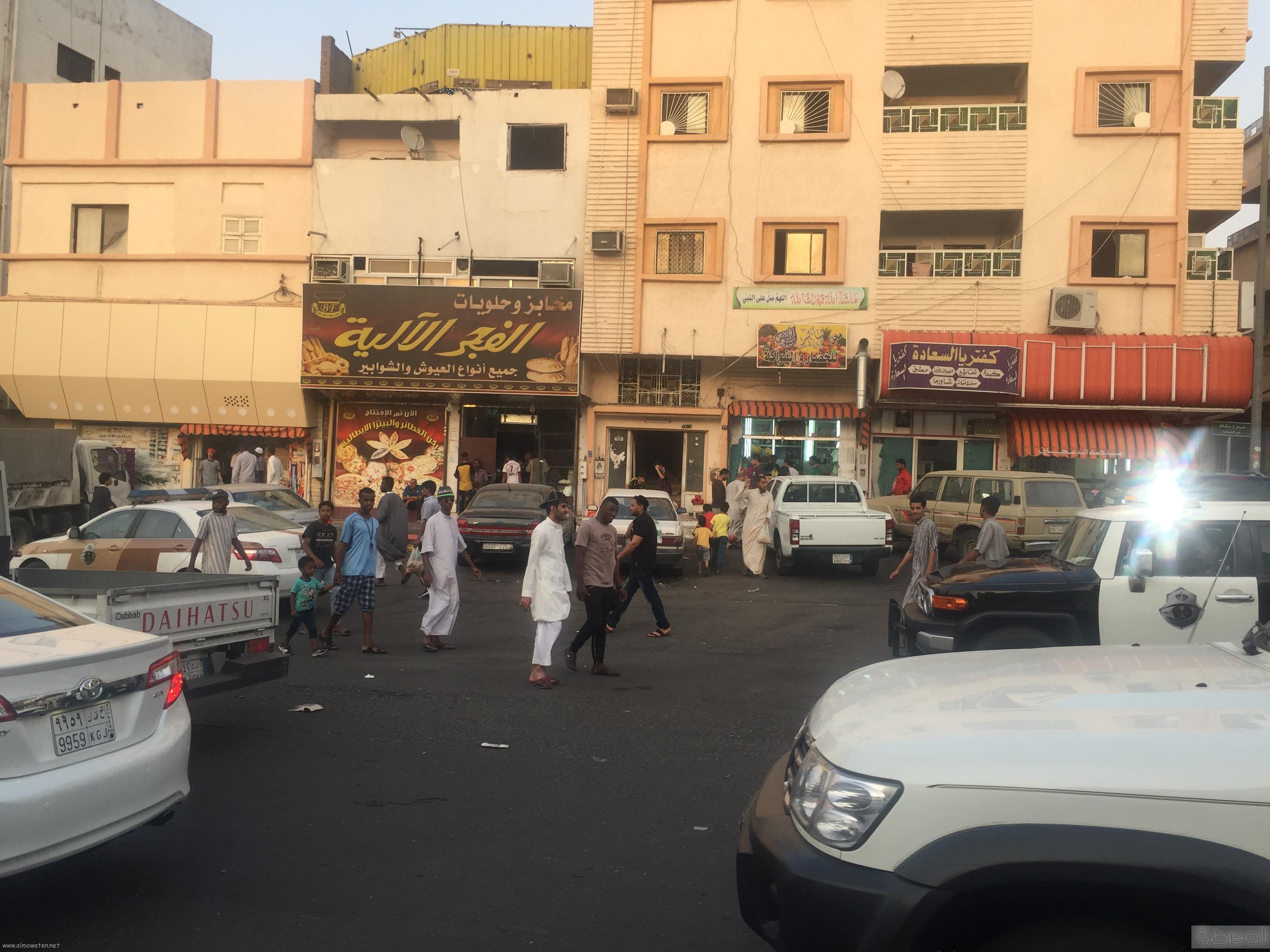 شارع عكاظ بالطائف زوار رمضان (6)