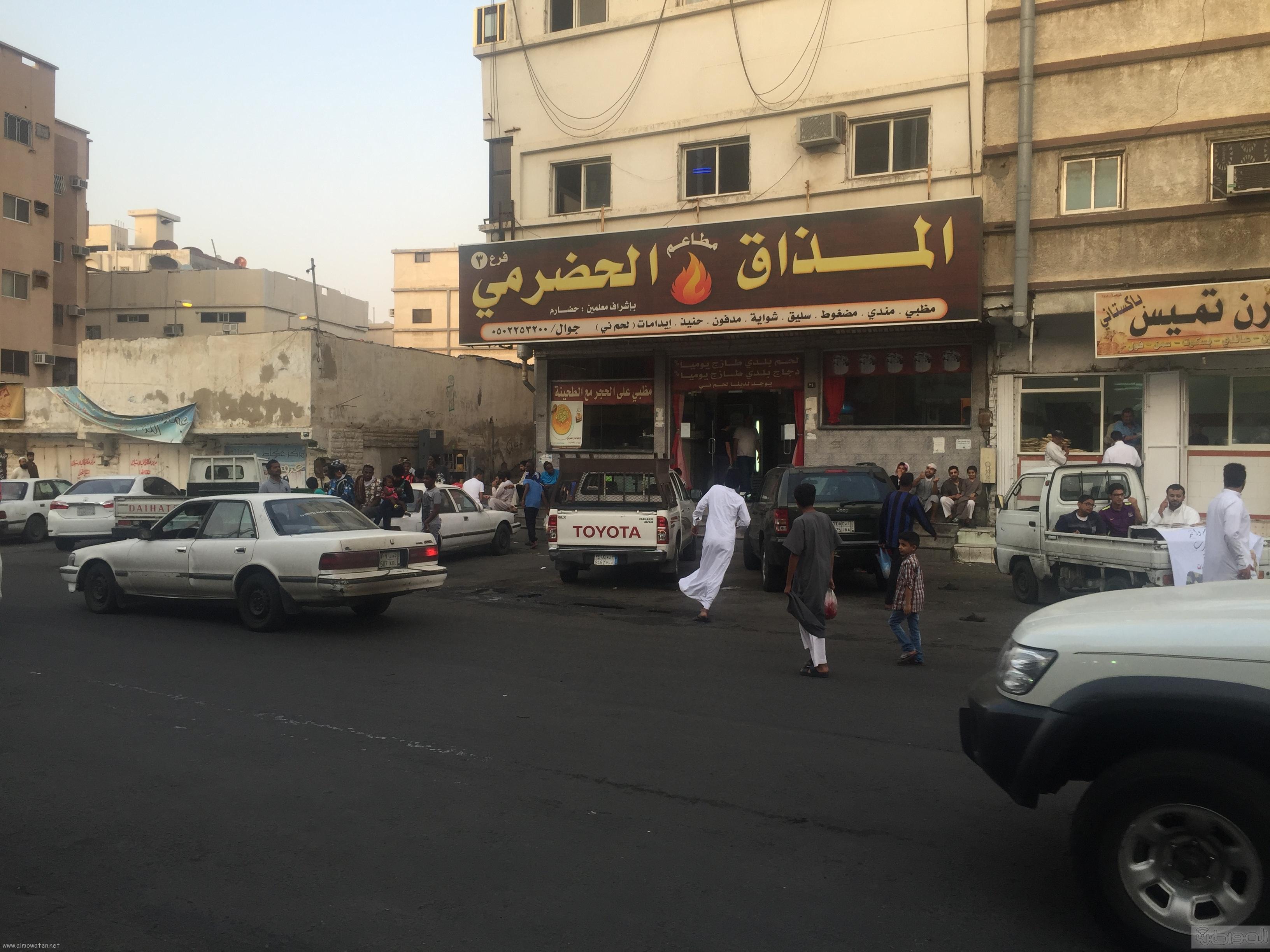 شارع عكاظ بالطائف زوار رمضان (8)