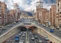 شارع-في-مدينة-طهران-إيران
