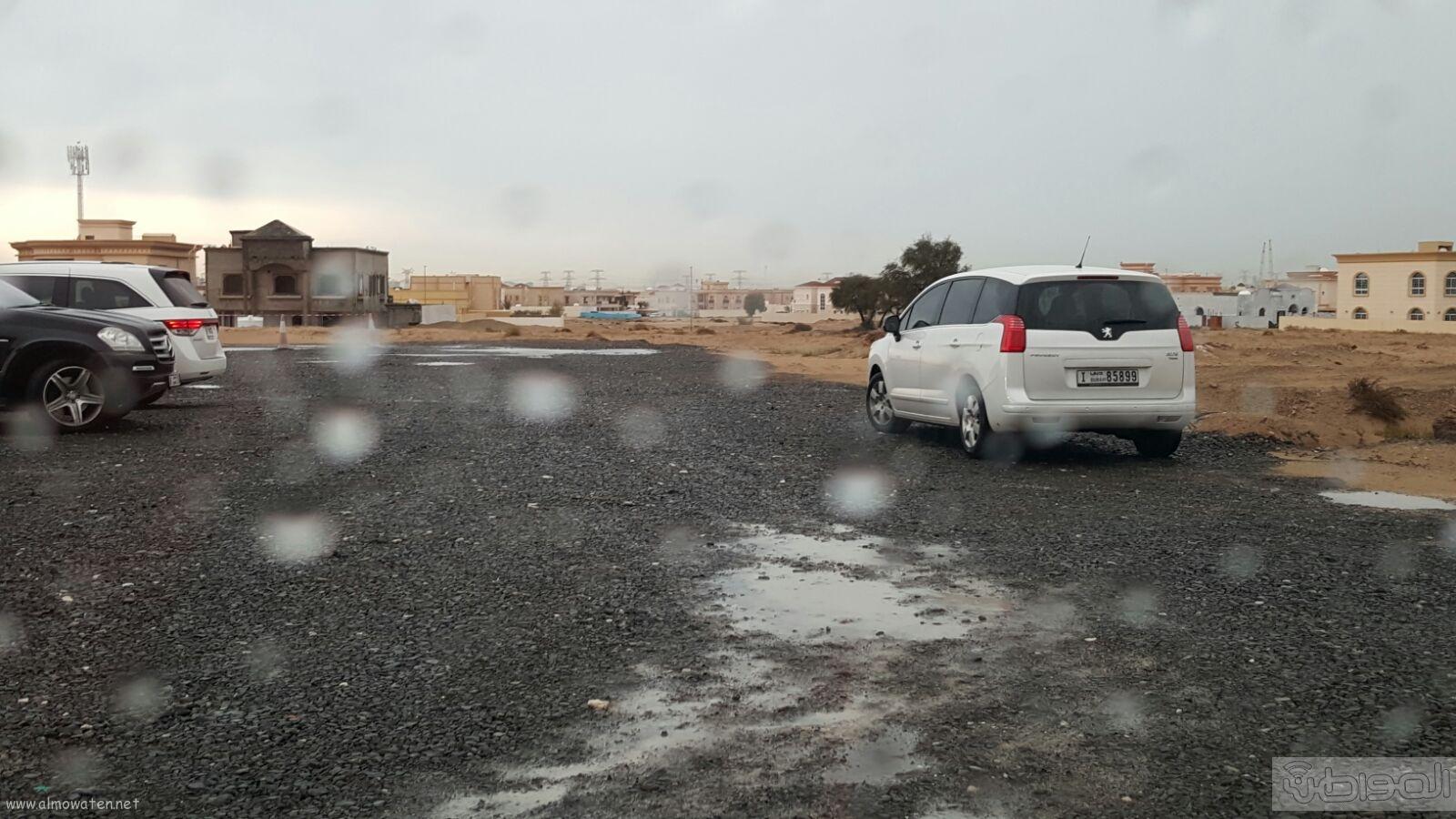 شاهد بالصور..  المواطن ترصد أمطار دبي (1)
