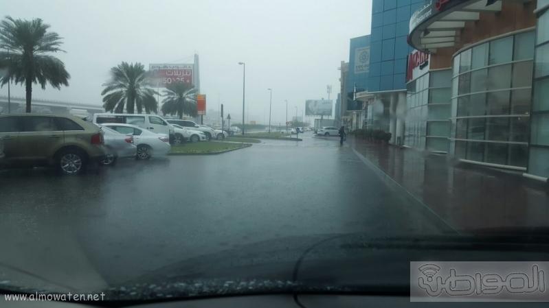 شاهد بالصور..  المواطن ترصد أمطار دبي (3)