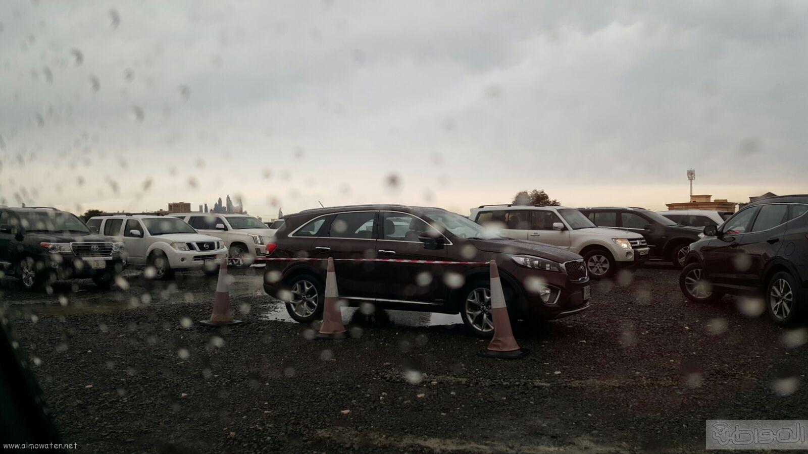 شاهد بالصور..  المواطن ترصد أمطار دبي (4)