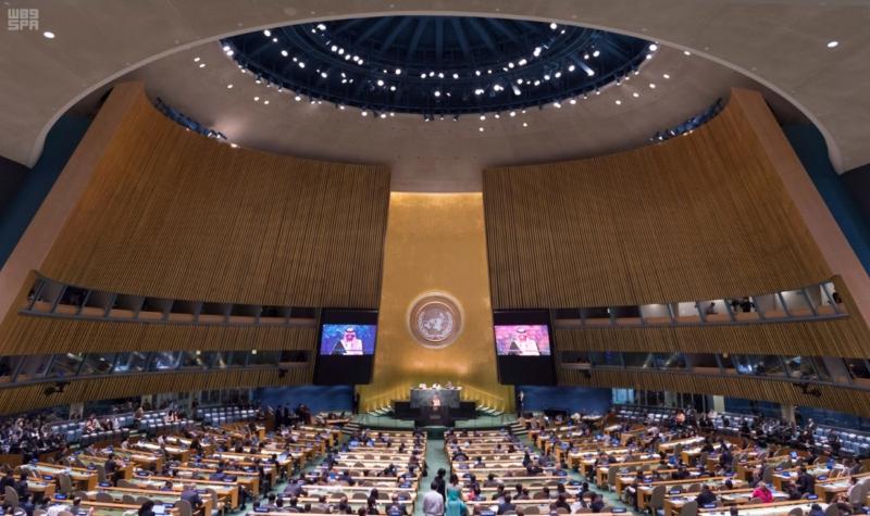 -بالصور..-ولي-العهد-يلقي-كلمة-السعودية-من-منبر-الأمم-المتحدة-1
