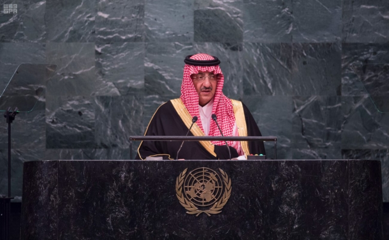 -بالصور..-ولي-العهد-يلقي-كلمة-السعودية-من-منبر-الأمم-المتحدة