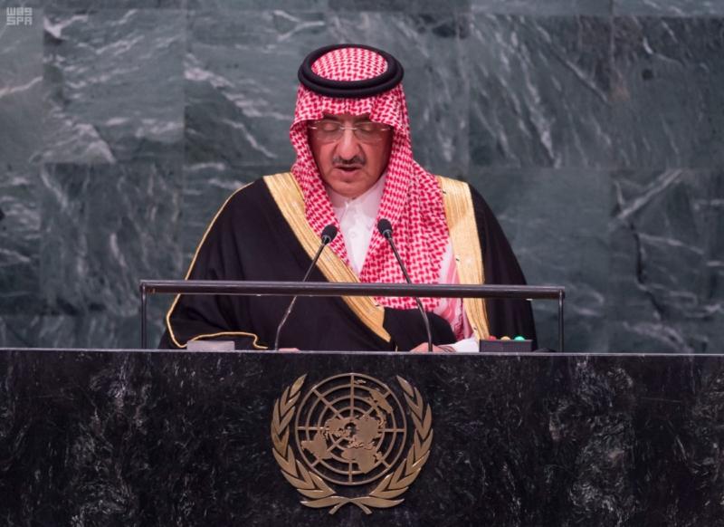 -بالصور..-ولي-العهد-يلقي-كلمة-السعودية-من-منبر-الأمم-المتحدة-8