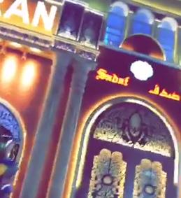 شاهد.. سائح سعودي يقاطع دخول جناح #إيران في #دبي