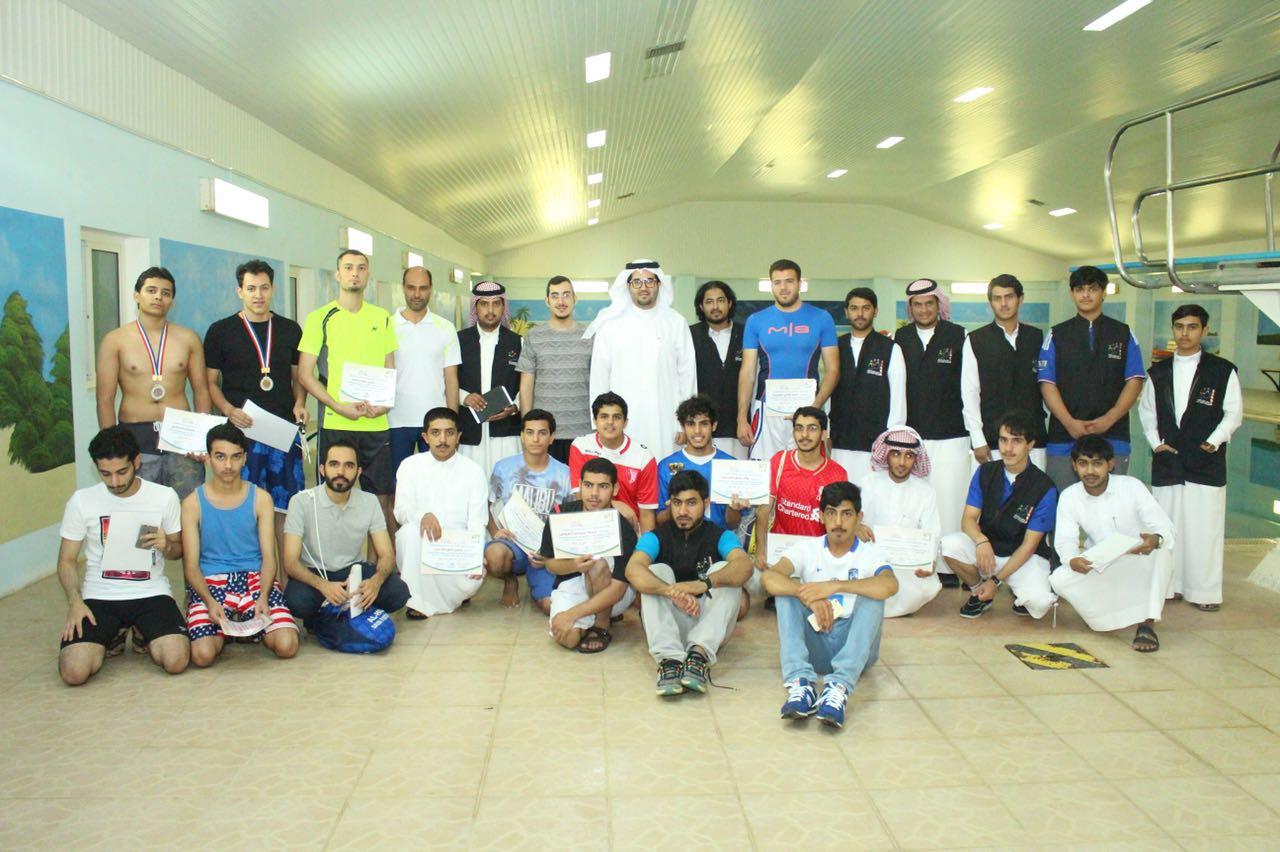شباب الجوف يقيم بطولة السباحة الثانية (1)