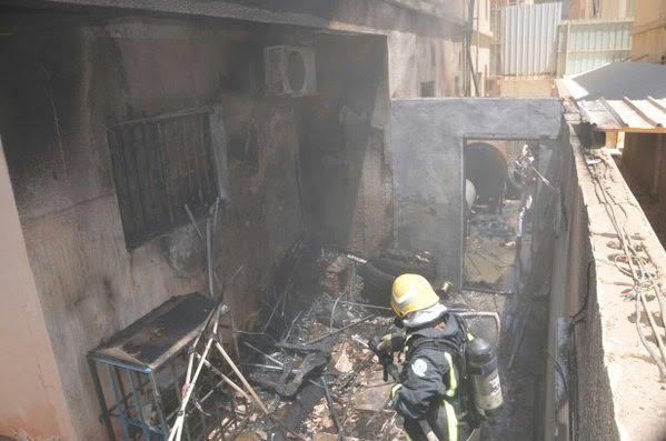 شبهة جنائية تحيل حريق بمنزل في #سكاكا