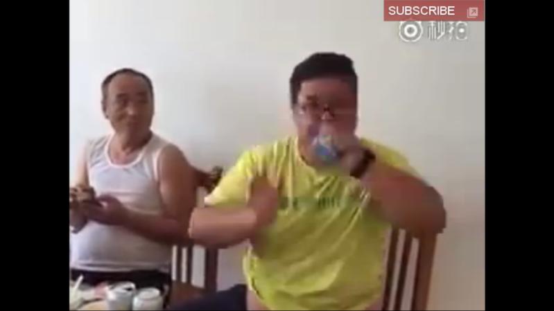شرب مياه في ثانية واحدة