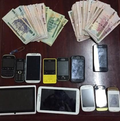 شرطة الرياض توقع ثمانية لصوص (2)