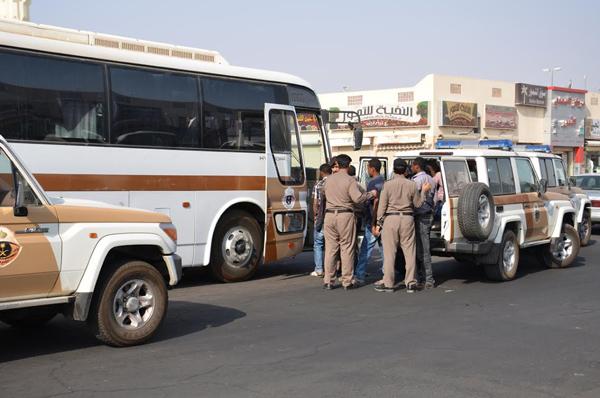 شرطة - القبض على اثيوبيين - اثيوبي - حملة