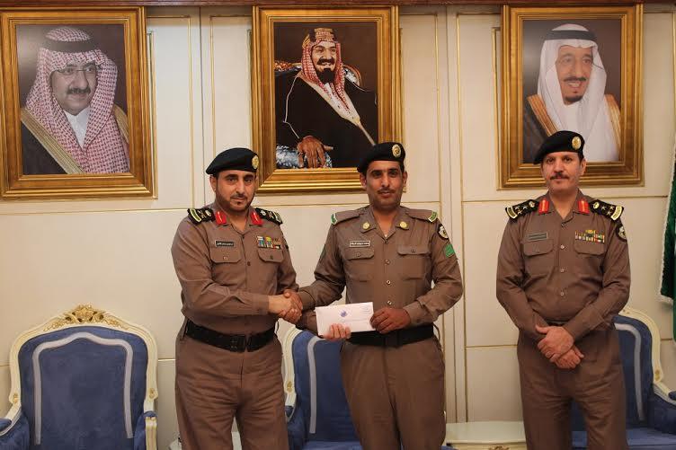 شرطة حائل تكرم فردين كشفا عن هوية داهس أمين الضمادي1