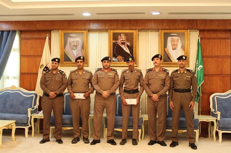 شرطة حائل تكرم فردين كشفا عن هوية داهس أمين الضمادي3