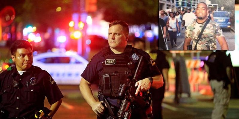 شرطة دالاس.. اعتقال مشتبه بهم بقنص 5 من الشرطة الأميركية