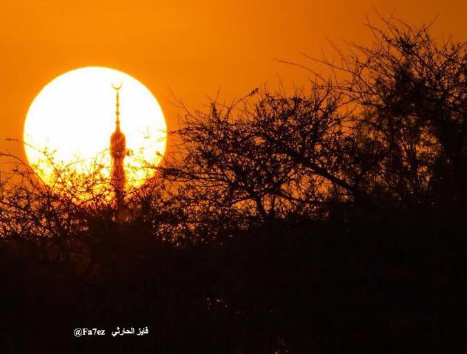 شروق الشمس بالطائف (2)