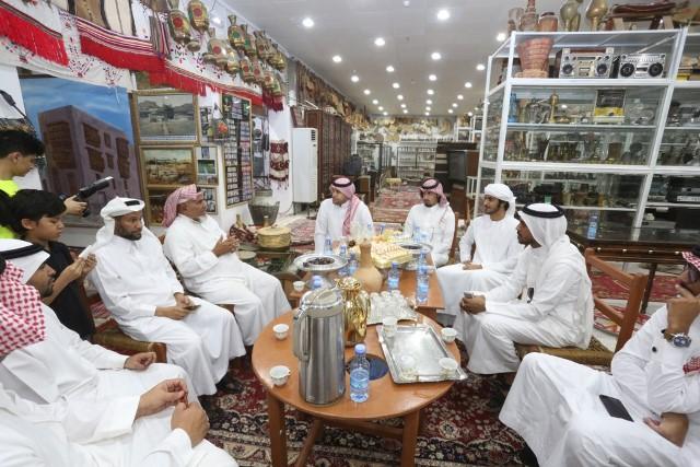 شعراء الخليج في قمة المدينة للتعرف على 3 ملايين قطعة نادرة (1)
