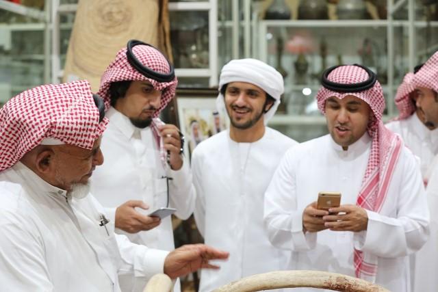 شعراء الخليج في قمة المدينة للتعرف على 3 ملايين قطعة نادرة (5)