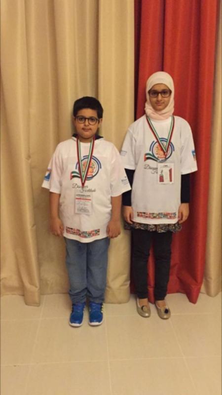 شقيقان سعوديان يحصدان المركزين الأول والثالث بمسابقة يوسي ماس3