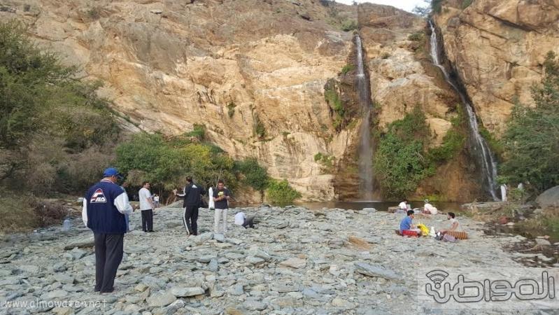 شلال الدهناء في محافظة تنومة2