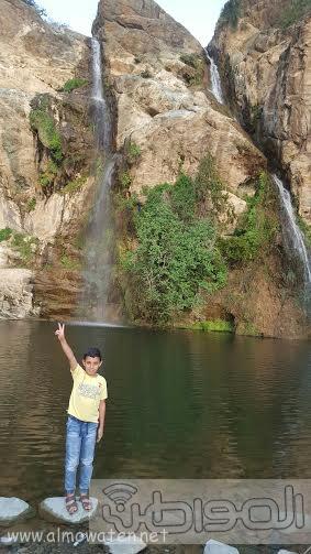 شلال الدهناء في محافظة تنومة3