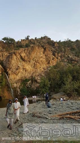 شلال الدهناء في محافظة تنومة4