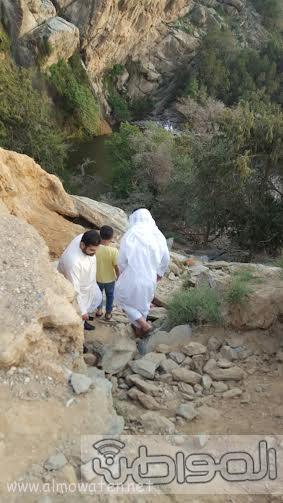 شلال الدهناء في محافظة تنومة5