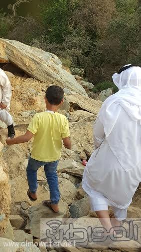 شلال الدهناء في محافظة تنومة6