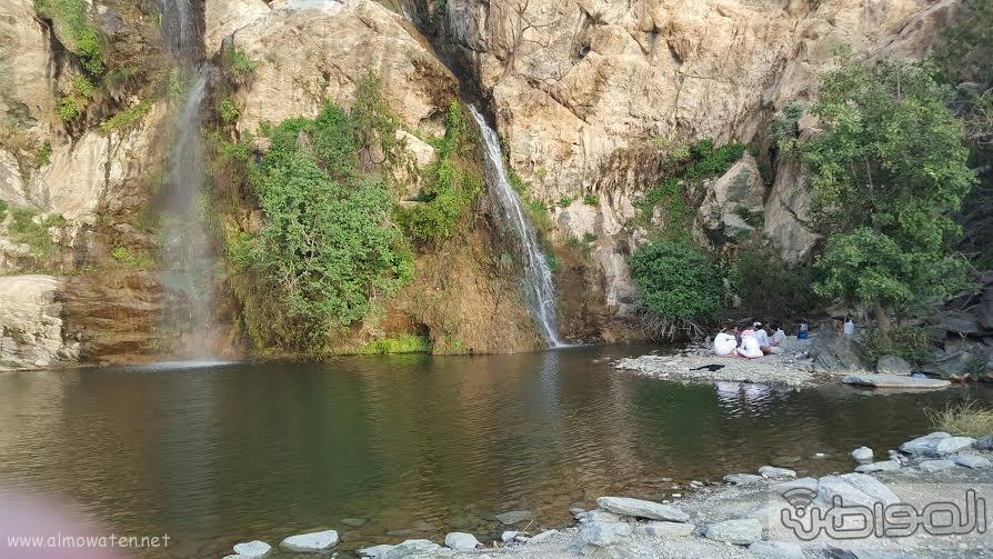 شلال الدهناء في محافظة تنومة9