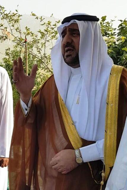 شيخ قبيلة شوقب بني مالك عبدالله بن زاحم صحيفة المواطن