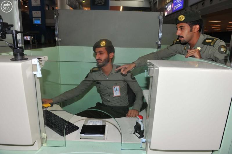 صالات الحج بمطار الملك عبد العزيز (2)