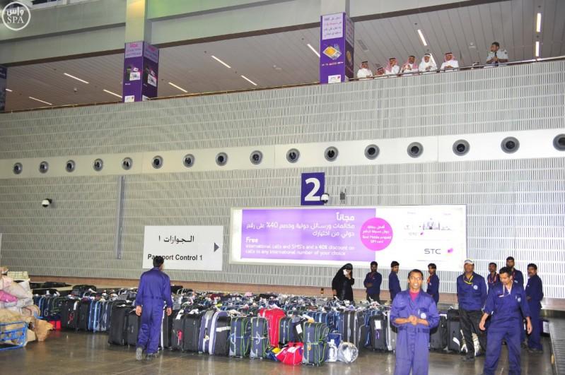 صالات الحج بمطار الملك عبد العزيز (3)