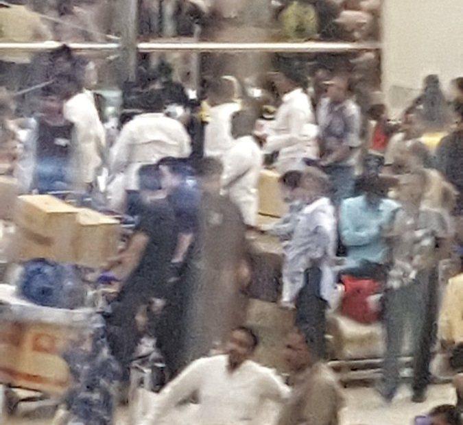 صالة ازدحام مطار الملك خالد (2)