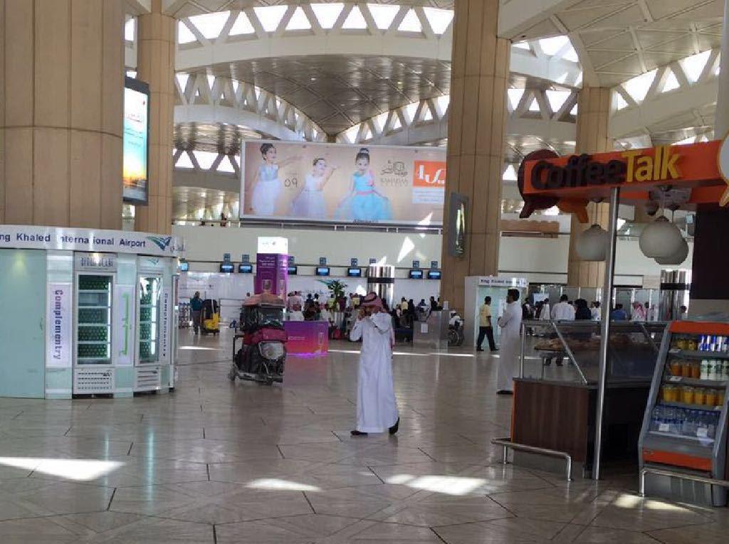 صالة ازدحام مطار الملك خالد (6)